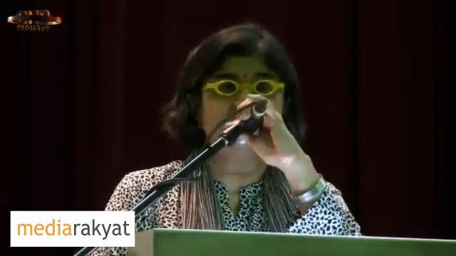 Ambiga Sreenevasan: Kita Yang Menjadi Penderma, Bukan Dari Negara Arab