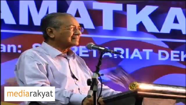 Dr Mahathir: Saya Harap Kita Akan Mengalahkan BN Dalam Pilihanraya Kecil Di Sg Besar & K Kangsar