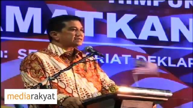 "Azmin Ali: Kemenanagan Rakyat Di Sg Besar & K Kangsar Adalah Mesej Yang Cukup Jelas ""Najib Must Go"""