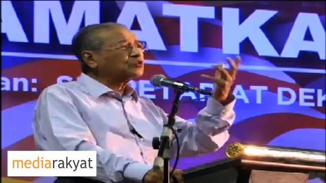 Dr Mahathir: Apa Sebabnya Yang Kita Nak Turun Najib?