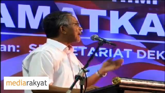 Kamaruddin Jaafar: Rakyat Telah Berani Bersetujui Najib Berhenti Daripada Jawatan Perdana Menteri