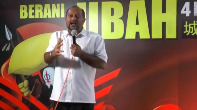 Gobind Singh Deo: Sokongan Yang Diberikan Kepada Adenan Adalah Sokongan Yang Diberikan Kepada Najib