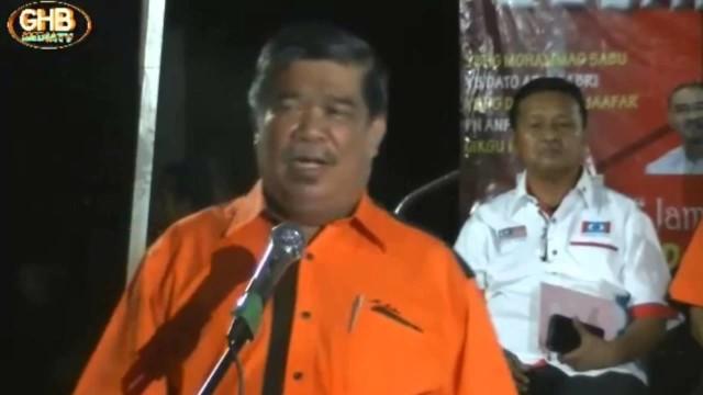 Mat Sabu: Menghalang Pimpinan Masuk Sarawak, Perdana Menteri Tak Berani Interfere