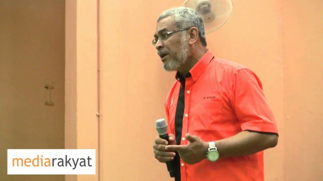 Khalid Samad: We Want The Sarawakian, We Want The Malaysian To Stand Up Against Corruption