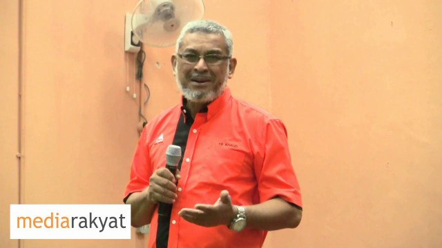Khalid Samad: If Adenan Is So Popular, Why Is He So Afraid Of Us?