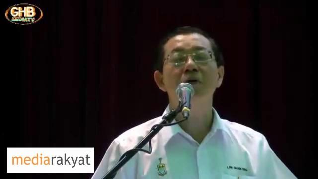 Lim Guan Eng: Bersatu Untuk 1 Matlamat, Untuk Selamatkan Malaysia, Selamatkan Rakyat