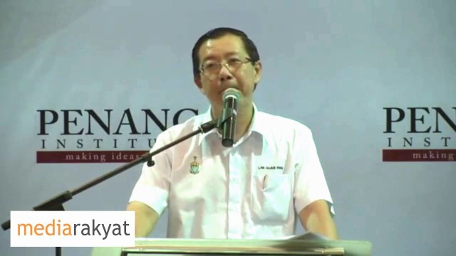 Lim Guan Eng: Now Malaysia Is Well Known For All The Wrong Reasons