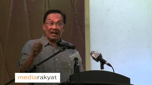 Anwar Ibrahim: Saya kecam penahanan Maria Chin Abdullah oleh PDRM menggunakan SOSMA