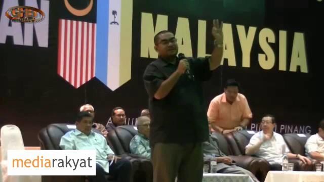 Mujahid Yusof Rawa: Keseluruhan Institusi Kerajaan Digunakan Nak Jaga Seorang Manusia, Nama Dia Apa?