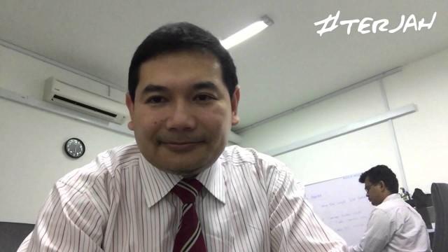 Rafizi Ramli:  Malaysia #DarulKondo