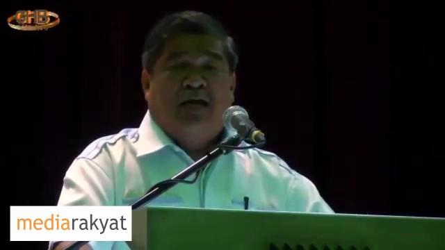 Mat Sabu: Seorang Curi RM2.6B Rakyat Tak Peduli, Hutang RM40B 1MDB Rakyat Tak Peduli