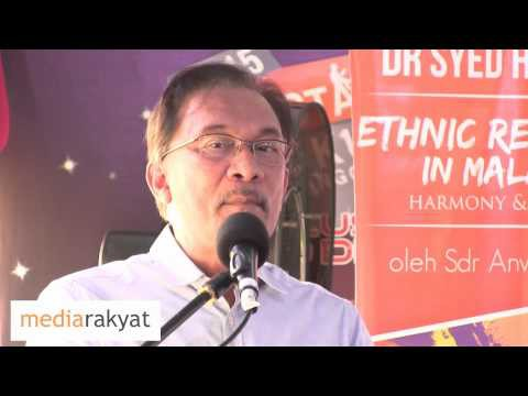 Anwar Ibrahim: You Can't Be A Moderate If You Condone Corruption & Racism