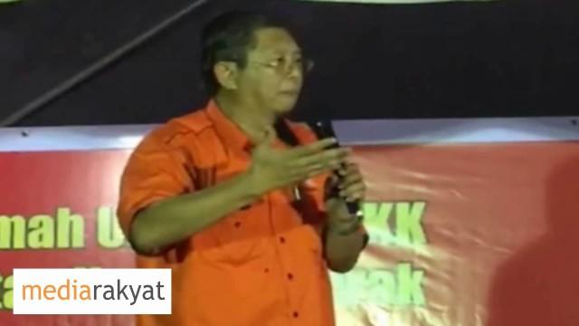 Nizar Jamaluddin: Hantar 1 Mesej Kepada Najib, Orang Kuala Kangsar Mahu Ubah Ini Kerajaan