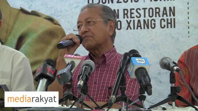 Tun Mahathir: Pilihan Raya Kecil Kali Ini Adalah Sebagai Referendum Bagi Najib Razak
