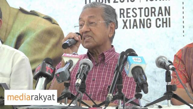 Tun Mahathir: Reformasi & Lain-Lain Hanya Boleh Diteruskan Kalau Najib Tidak Didalam Kerajaan