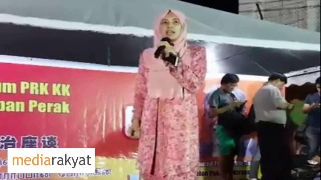 Nurul Izzah: Bebaskan Rakyat Daripada UMNO BN, Kerajaan Yang Rasuah Zalim Sebegini