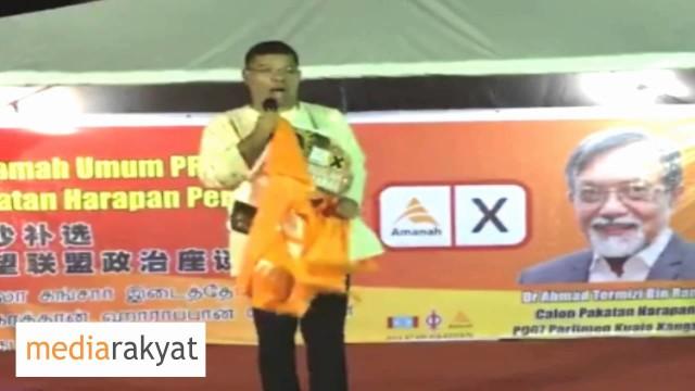 Saifuddin Nasution: Saya Orang Melayu, Orang Cina Saudara Saya, Orang India Juga Sahabat Saya, Ini Politik Baru