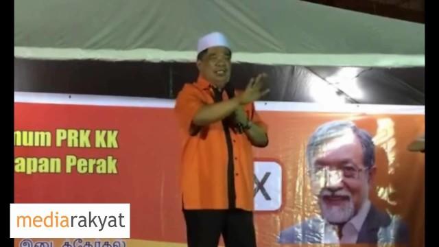 Mat Sabu: Kalau Nak Lawan BN, Sila Undi Calon Parti Amanah Pakatan Harapan