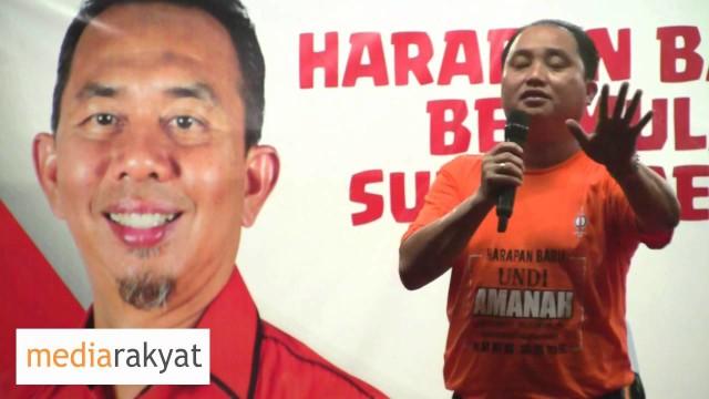 Ng Suee Lim 黄瑞林:大家要加多一点力,每票必争,若要国阵倒,一票不能少