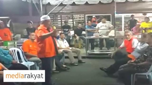 Mat Sabu: Jangan Sia-Siakan Undi Anda, Kalau Nak Lawan Barisan Nasional, Kena Undi Amanah