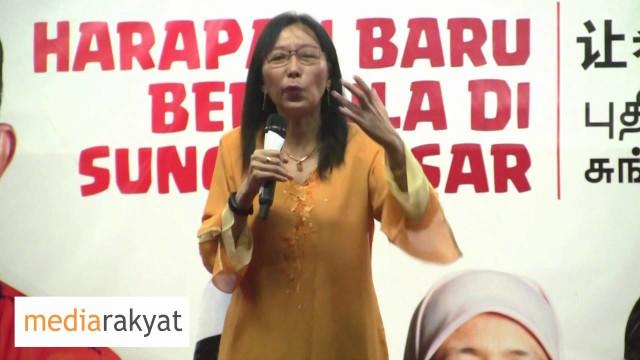 Teresa Kok 郭素欣: 马华在上次大选到处打败仗, 不是没有理由的