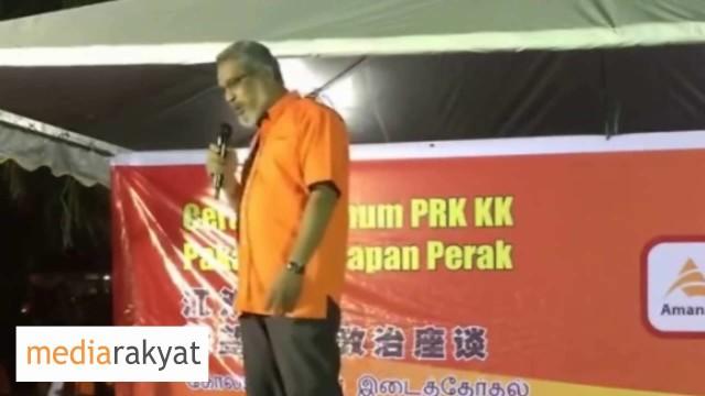 Khalid Samad: Walaupun Amanah Parti Baru, Kita Tidak Akan Tunduk Kepada UMNO Barisan Nasional