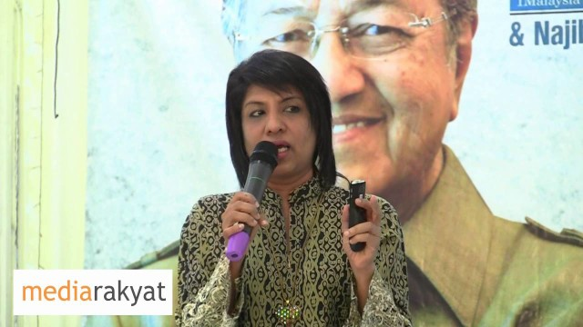 Cynthia Gabriel: Voters To Tell Najib That We Do Not Want Your Leadership