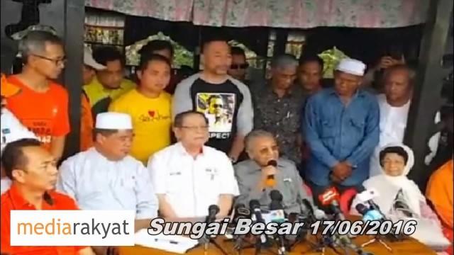 Tun Mahathir: BN Menang Bermakna Rakyat Kalah