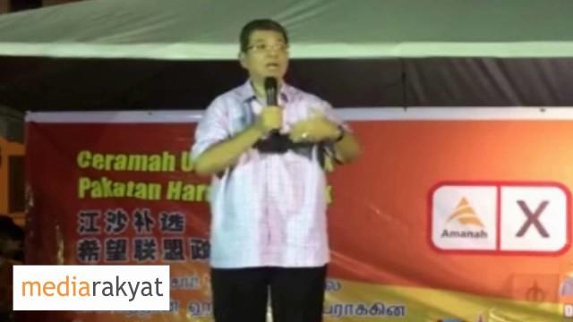 Saifuddin Abdullah: Lagi 48Jam, Jaga-Jaga Hati-Hati, UMNO BN Turun Macam-Macam Mahu Turun