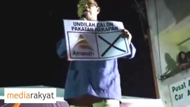 Grand Finale Kuala Kangsar – Saifuddin Abdullah & Saifuddin Nasution