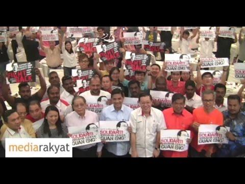 Azmin Ali: Kita Menyokong Lim Guan Eng Kerana Dia Seorang Demokrat, Bukan Kleptokrat Di Putrajaya