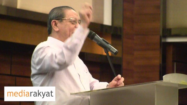 Lim Kit Siang: Malaysia Has Overnight Become A Kleptocracy, A Country Ruled By Thieves