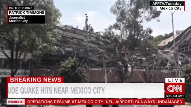 Central Mexico earthquake kills more than 240, topples buildings