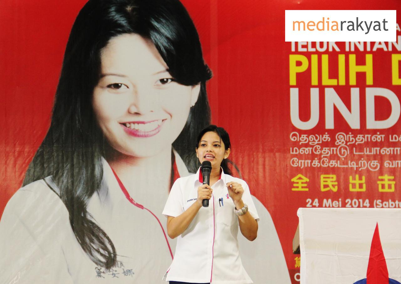 Simple Wedding Dresses Nz: Koon Yew Yin: Dyana Sofya Shoots Down A Political Frog